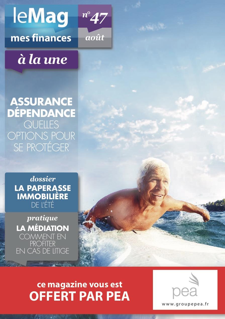 Magazine PEA/Tout Sur Mes Finances – Août 2015