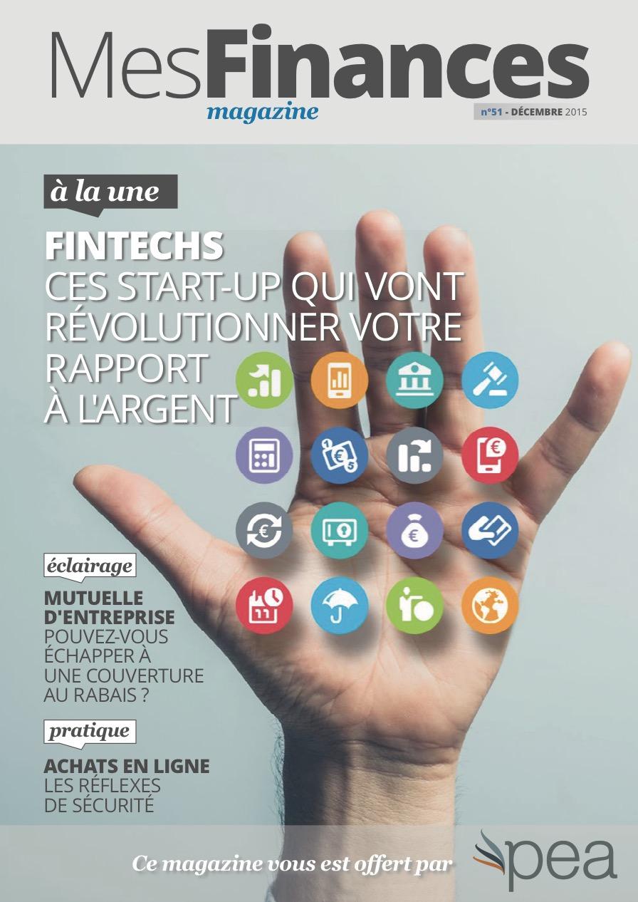Magazine PEA/Tout Sur Mes Finances – Décembre 2015