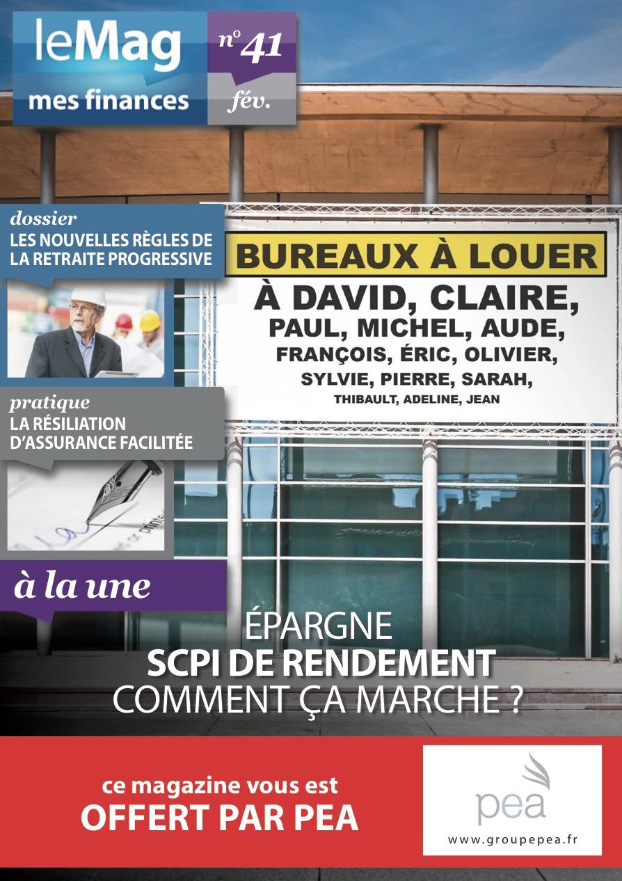 Magazine PEA/Tout Sur Mes Finances – Février 2015