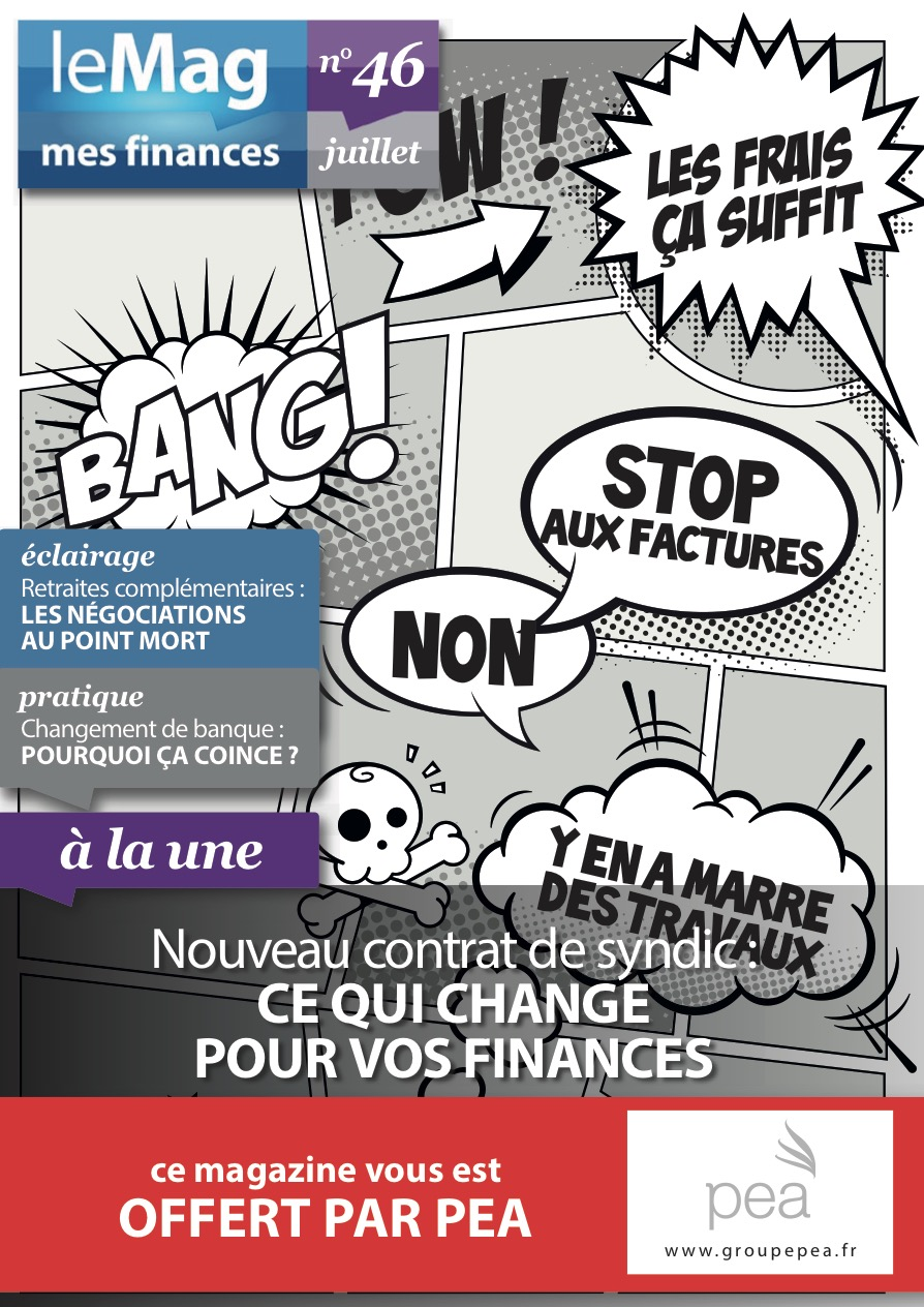 Magazine PEA/Tout Sur Mes Finances – Juillet 2015