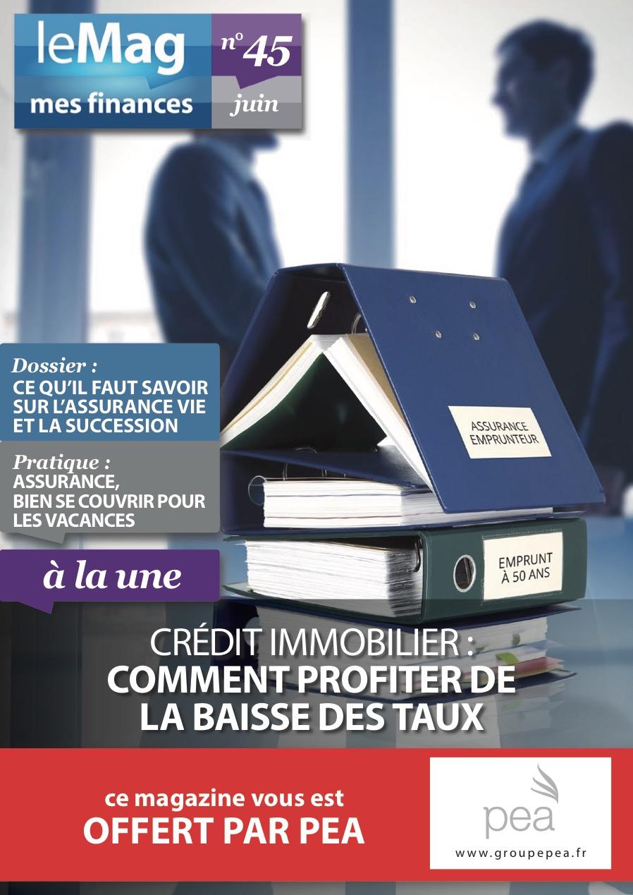 Magazine PEA/Tout Sur Mes Finances – Juin 2015
