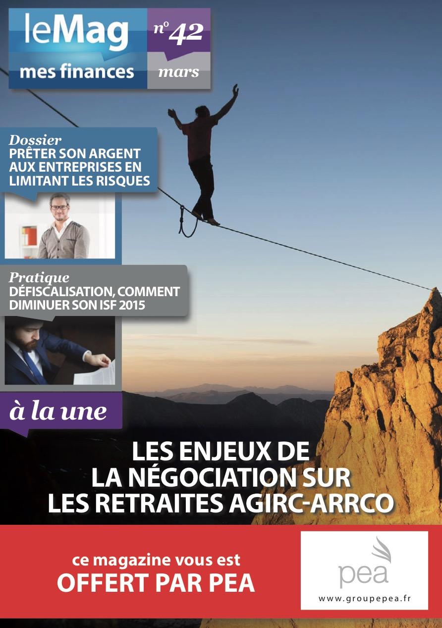 Magazine PEA/Tout Sur Mes Finances – Mars 2015