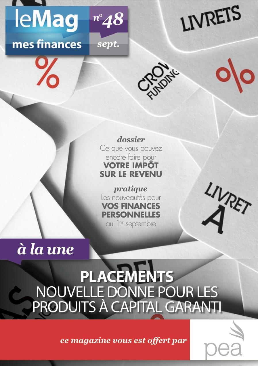 Magazine PEA/Tout Sur Mes Finances – Septembre 2015