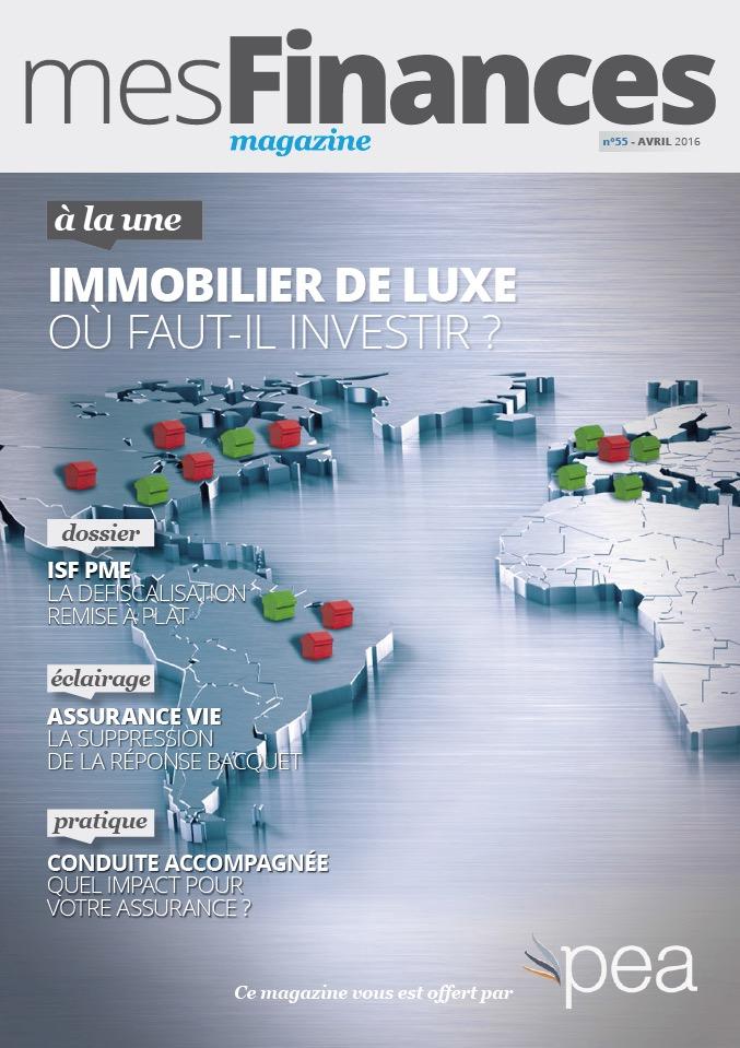 Magazine PEA/Tout Sur Mes Finances – Avril 2016