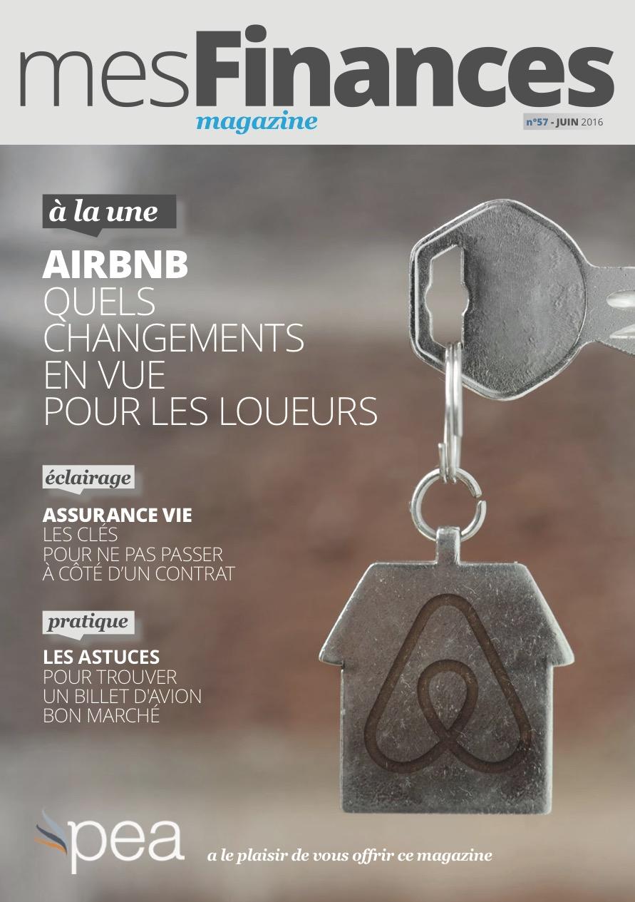 Magazine PEA/Tout Sur Mes Finances –  Juin 2016