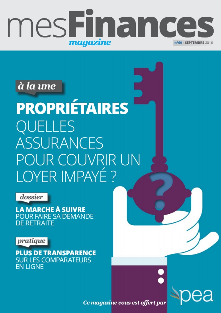 Magazine PEA/Tout Sur Mes Finances –  Septembre 2016