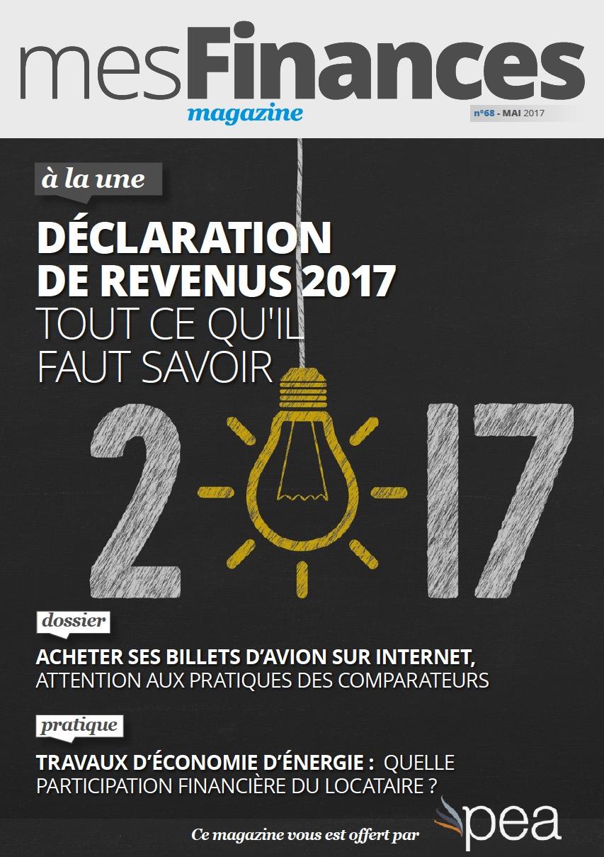 Magazine PEA/Tout Sur Mes Finances –  Mai 2017