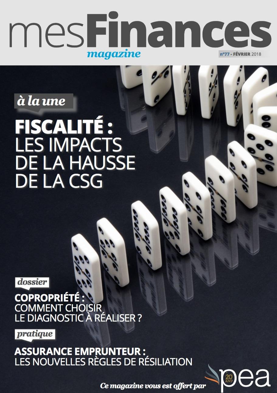 Magazine PEA/Tout Sur Mes Finances –  Février 2018