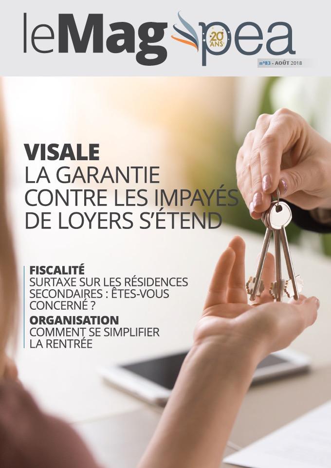 Magazine PEA/Tout Sur Mes Finances –  aout 2018