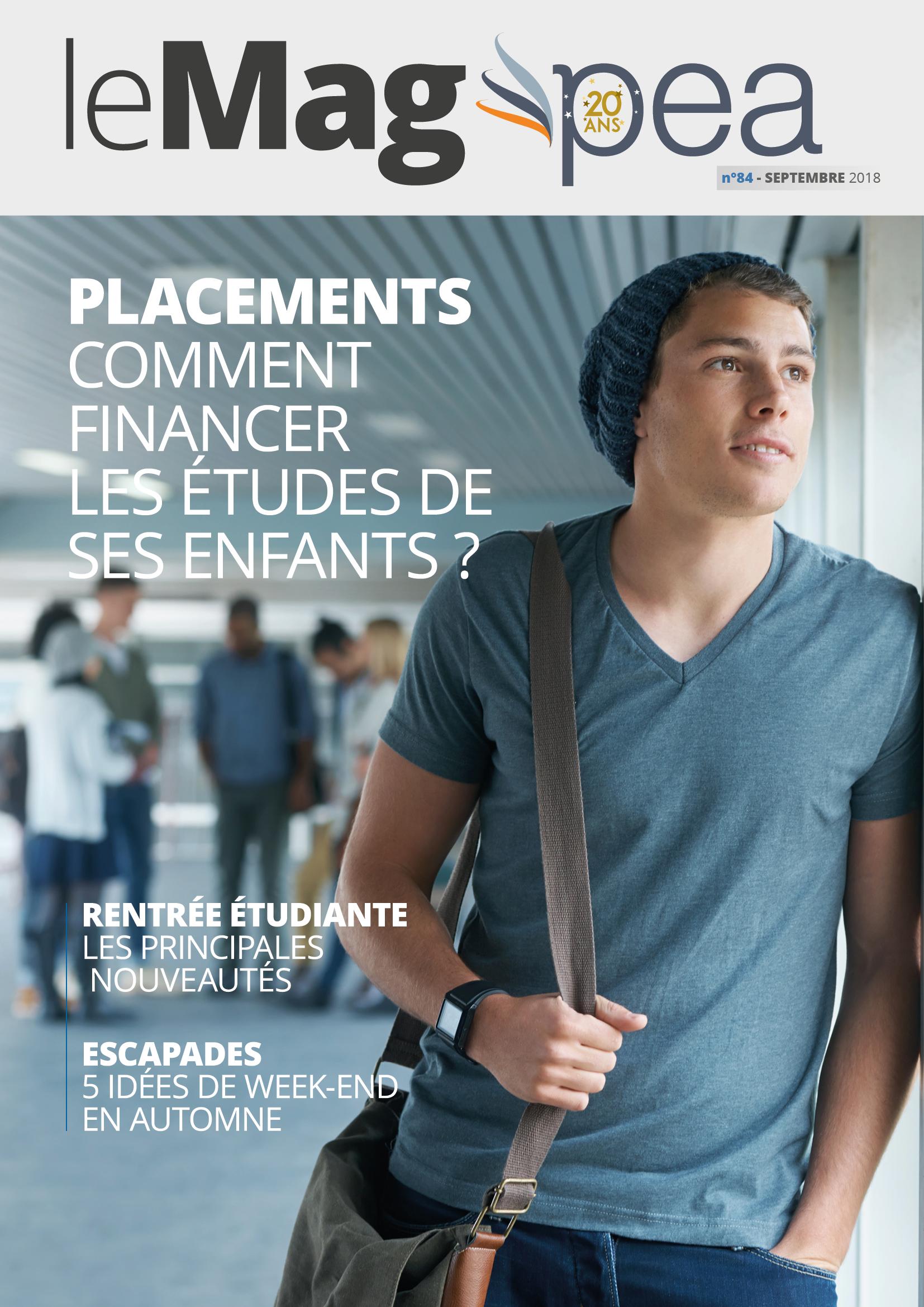 Magazine PEA/Tout Sur Mes Finances –  septembre 2018