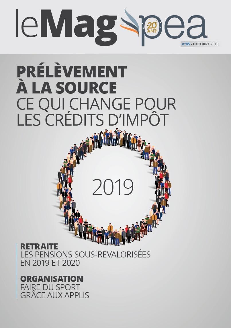 Magazine PEA/Tout Sur Mes Finances –  octobre 2018