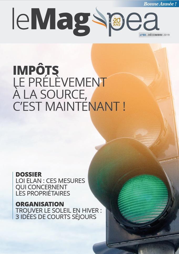 Magazine PEA/Tout Sur Mes Finances –  janvier 2019
