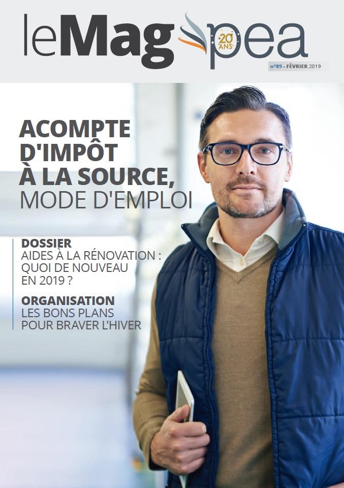 Magazine PEA/Tout Sur Mes Finances –  février 2019