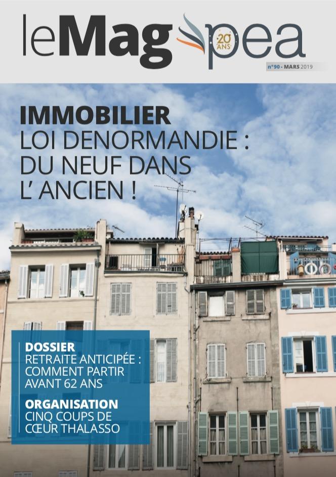 Magazine PEA/Tout Sur Mes Finances –  mars 2019